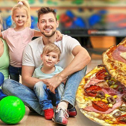 Bowling a pizza ve stylovém podniku