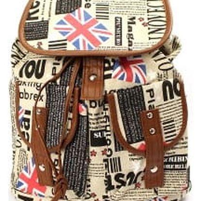 Stylový dámský batoh ENGLAND