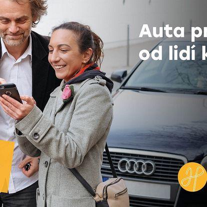 HoppyGo: snadné půjčování aut od lidí z okolí