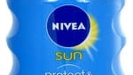 Nivea Sun Protect & Bronze Oil Spray SPF30 200 ml opalovací přípravek na tělo pro ženy