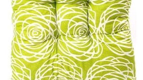 Sada 6 ks zahradních podsedáků green flower