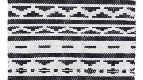 Černobílý koberec House Doctor New Inka