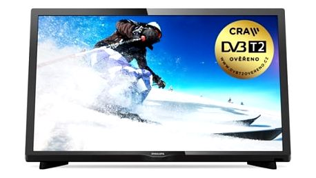 Televize Philips 24PHS4031/12 černá