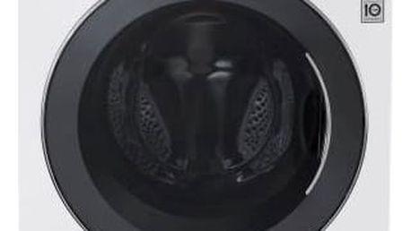 Automatická pračka se sušičkou LG F84A8TDH2N bílá + Doprava zdarma