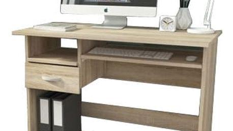 Krzys - Kancelářský stůl (dub sonoma)