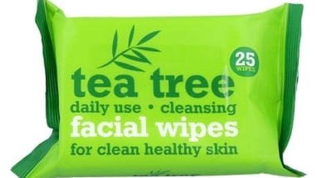 Xpel Tea Tree 25 ks čisticí ubrousky pro ženy