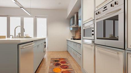 Vysoce odolný kuchyňský koberec Webtappeti Spices,60x150cm - doprava zdarma!