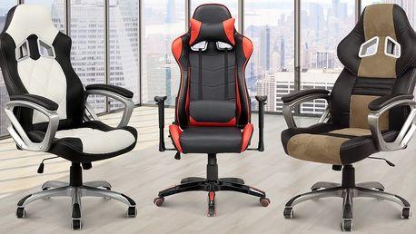 Designové kancelářské židle ve třech designech