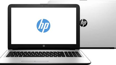 HP 15 (15-ba066nc), bílo-stříbrná - X3L19EA