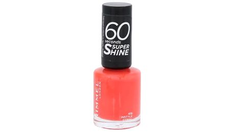 Rimmel London 60 Seconds Super Shine 8 ml lak na nehty pro ženy 415 Instyle Coral