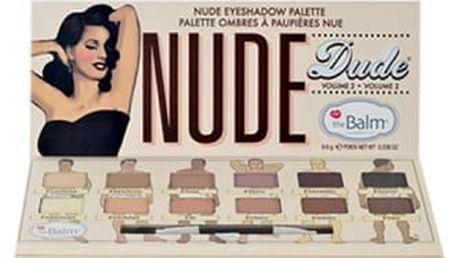 TheBalm Nude Dude Volume 2 Eye Shadow Palette 9,6 g oční stín pro ženy
