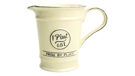 Krémový keramický džbánek T&G Woodware Pride Of Place,500ml