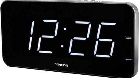 Sencor SDC 130 WH, hodiny - 8590669153701