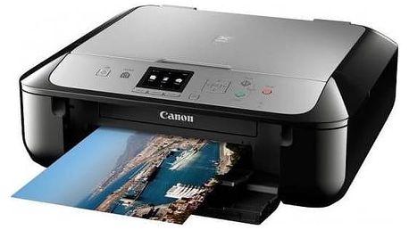 Tiskárna multifunkční Canon PIXMA MG5752 (0557C046) černá/stříbrná Software F-Secure SAFE 6 měsíců pro 3 zařízení (zdarma)