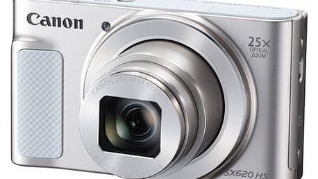 Digitální fotoaparát Canon SX620 HS (1074C002) bílý
