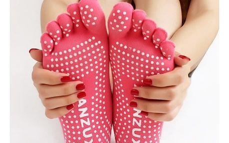Prstové ponožky na cvičení - dodání do 2 dnů