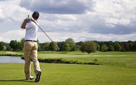 Celodenní zábava na golfu u Mariánských Lázní