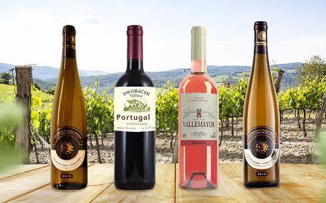 3 lahve vína na léto z Moravy i ze Španělska