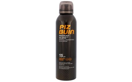 Piz Buin Opalovací sprej pro okamžitě zářivou pleť SPF 15 (Instant Glow Sun Spray) 150 ml