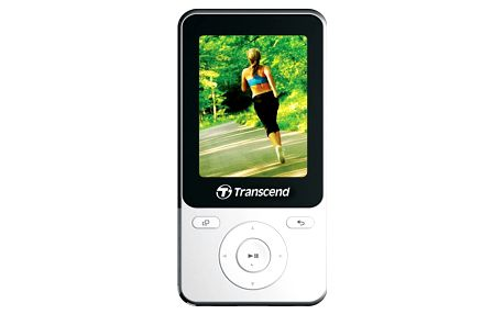 Transcend MP710, 8GB, bílá - TS8GMP710W