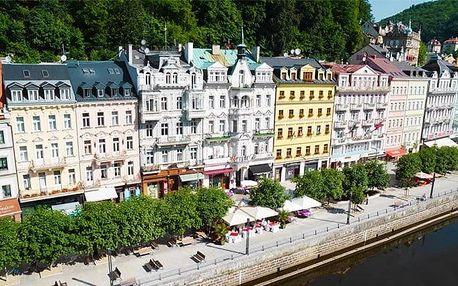 3–6denní wellness pobyt pro 2 s polopenzí v hotelu Palacký**** v Karlových Varech