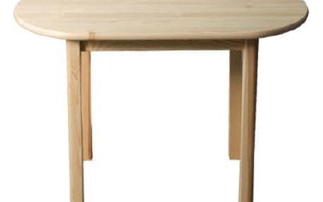 Stůl elipsa Nr.4 - 115x70 cm olše