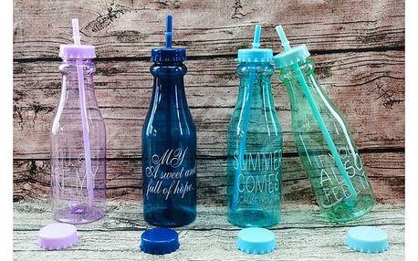 Plastová láhev s brčkem My Sports 650 ml