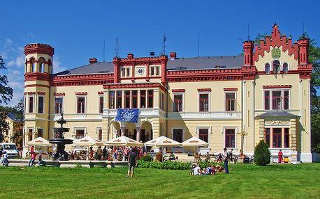 Zámecký pobyt v západních Čechách s neomezeným wellness i polopenzí