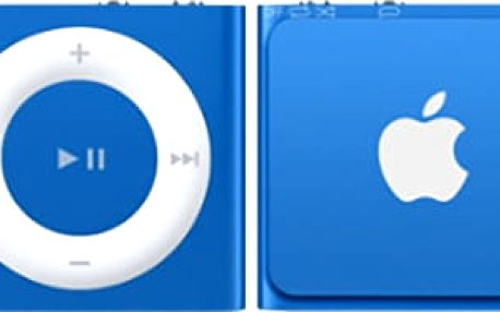 Apple iPod shuffle - 2GB, modrá, 4th gen. - MKME2HC/A