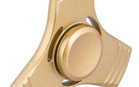 Fidget spinner zlatý (kovový)
