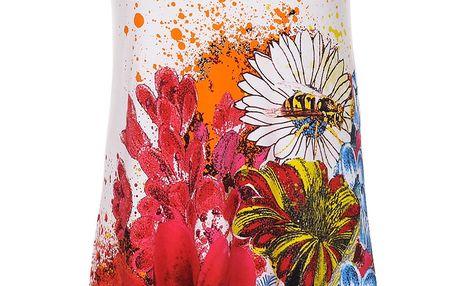 Desigual bílé šaty Mc Dress Luka - L