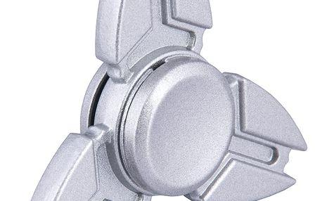 Fidget spinner stříbrný (kovový)