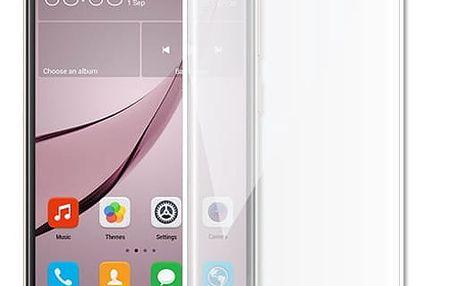 Screenshield temperované sklo na displej pro Huawei Nova, kovový rámeček, bílá - HUA-TGFCWMFNOVA-D