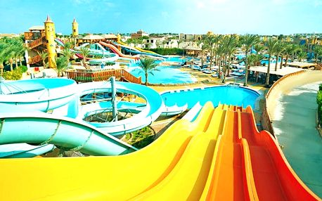 Hotel Sea Beach Resort & Aquapark, Sharm el Sheikh, Egypt, letecky, all inclusive