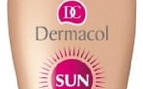 Dermacol Sun Milk Spray SPF10 200 ml opalovací přípravek na tělo voděodolná pro ženy