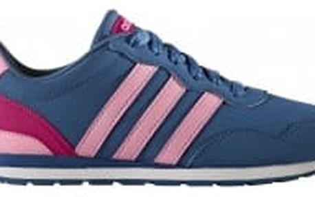 Dětské boty adidas V JOG K 38,5 CORBLU/LTPINK/BOPINK