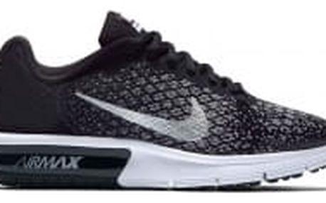 Dětské tenisky Nike AIR MAX SEQUENT 2 (GS) 38,5 BLACK/METALLIC SILVER-DARK GRE