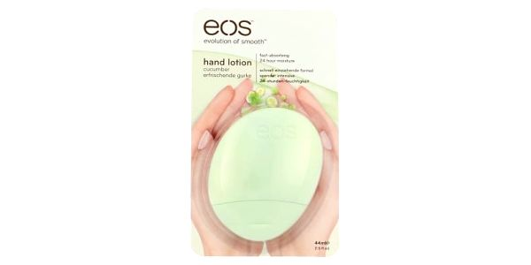 EOS Hand Lotion 44 ml krém na ruce pro ženy Cucumber