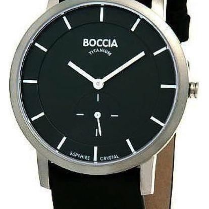 Boccia Titanium 3540-02 + pojištění hodinek, doprava ZDARMA, záruka 3 roky