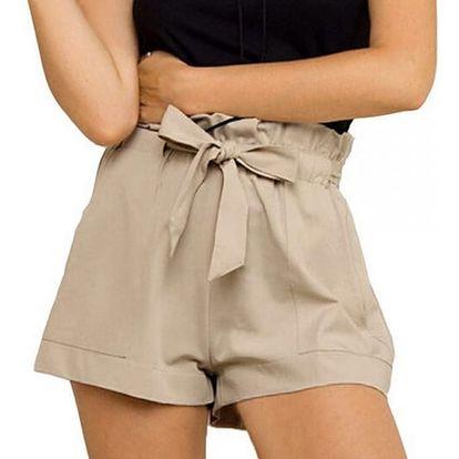 Dámské letní šortky s vysokým pasem - 3 barvy