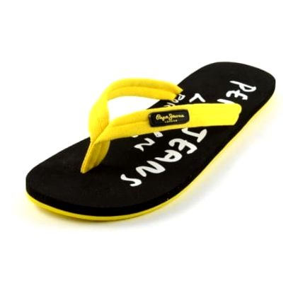 Pánské černo žluté žabky značky Pepe Jeans vč. pošty - vel. 42