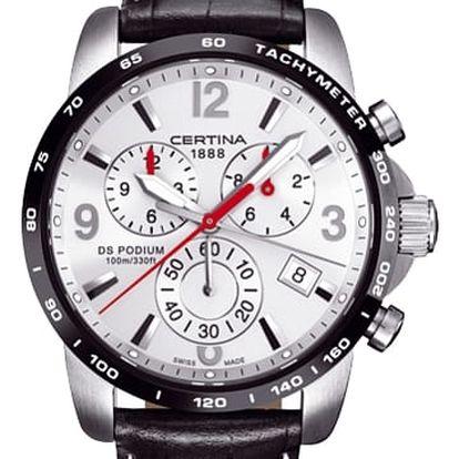 Certina C001.617.26.037.00 + pojištění hodinek, doprava ZDARMA, záruka 3 roky