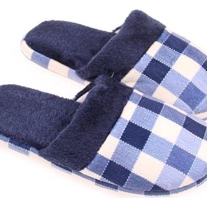 Domácí pantofle - modré