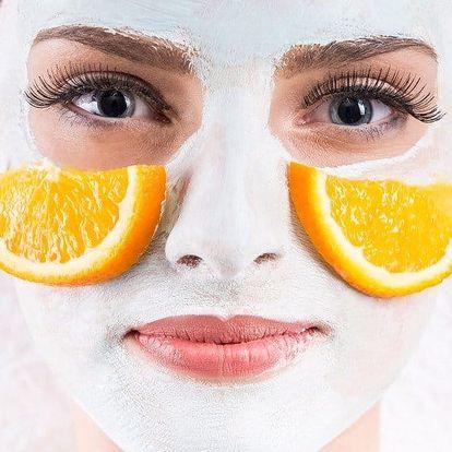 """Kosmetické ošetření """"Pomerančové osvěžení"""""""