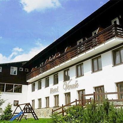 3–5denní pobyt pro 2 s polopenzí a slevami v hotelu Venuše ve Špindlerově Mlýně