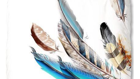 Bavlněné povlečení Mundotextil Color Feather,200x200cm - doprava zdarma!