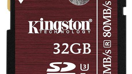Kingston SDHC 32GB Class 10 UHS-I U3 - SDA3/32GB