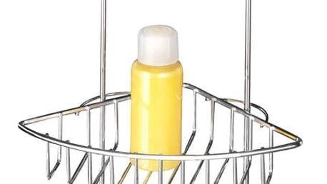 Dvoupatrový rohový stojan bez nutnosti vrtání Wenko Vacuum-Loc, až 33 kg - doprava zdarma!