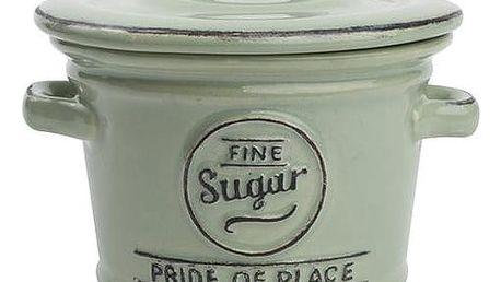 Zelená keramická dóza na cukr T&G Woodware Pride Of Place - doprava zdarma!