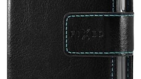 FIXED Opus pouzdro typu kniha pro Motorola G5 Plus/Moto X (2017), černé - FIXOP-183-BK